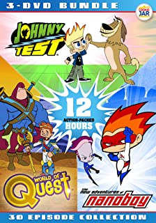 Animated Action Bundle - Johnny Test + Nanoboy + World of Quest