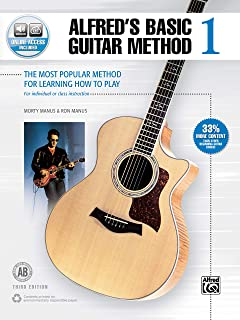 Alfred'S Basic Guitar Method 1 (Third Edition): The Most Popular Method for Learning How to Play