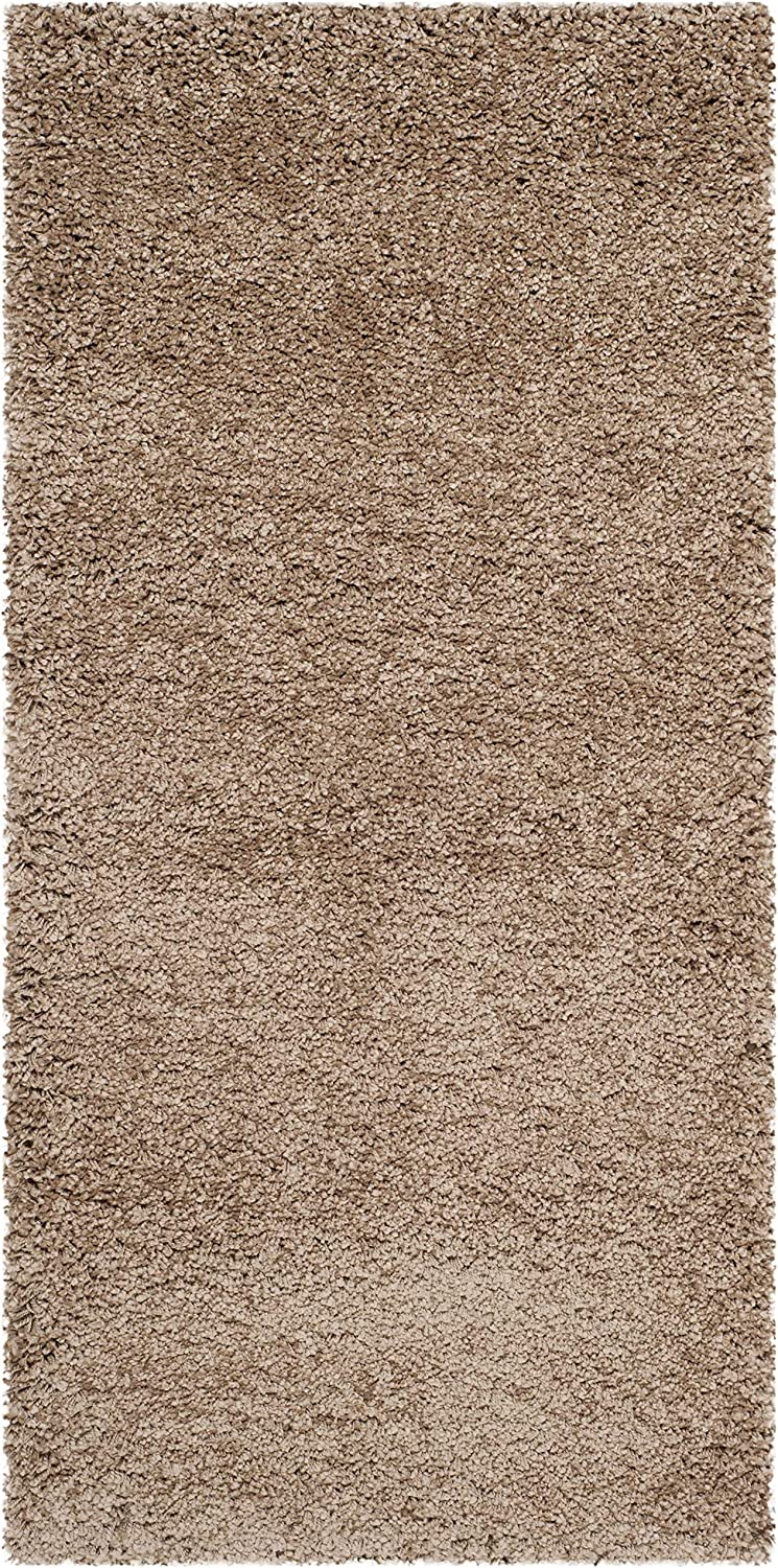 SAFAVIEH Max 83% OFF Milan Shag Collection SG180 Solid R Living Non-Shedding Max 43% OFF