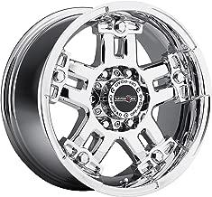 17x8.5 V-Tec Warlord Chrome Wheel Rim 6x135 +12mm Offset 87.1mm Hub Bore