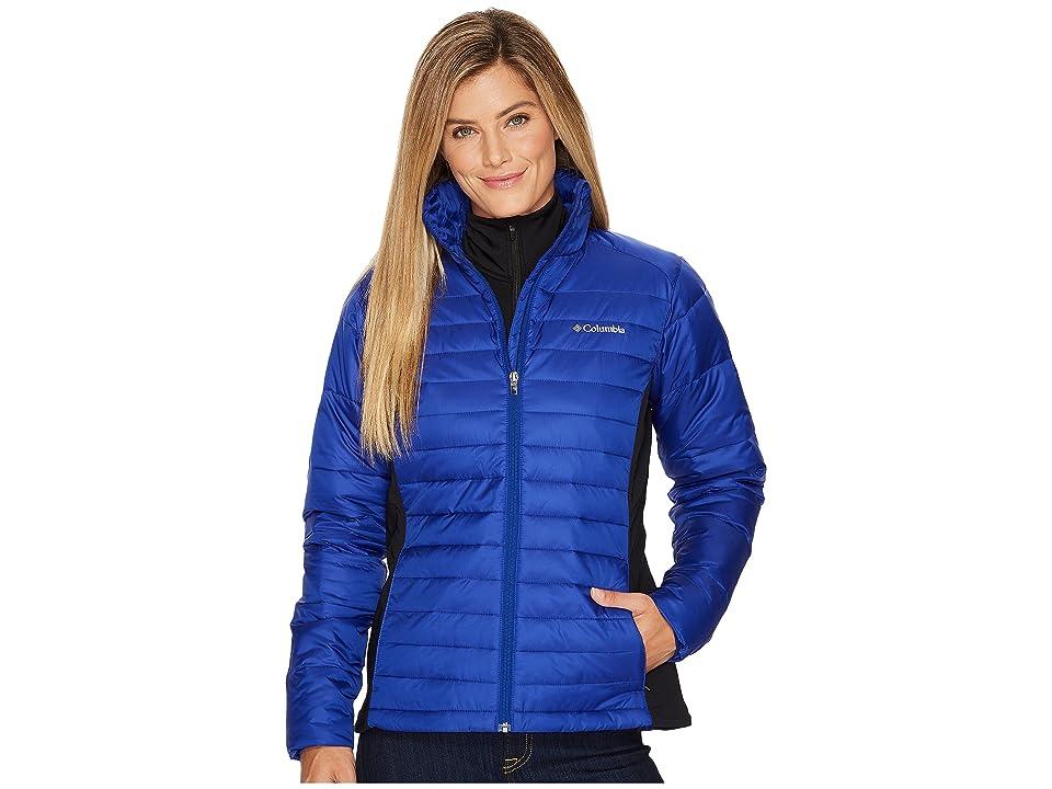 Columbia Powder Pillowtm Hybrid Jacket (Dynasty/Black) Women