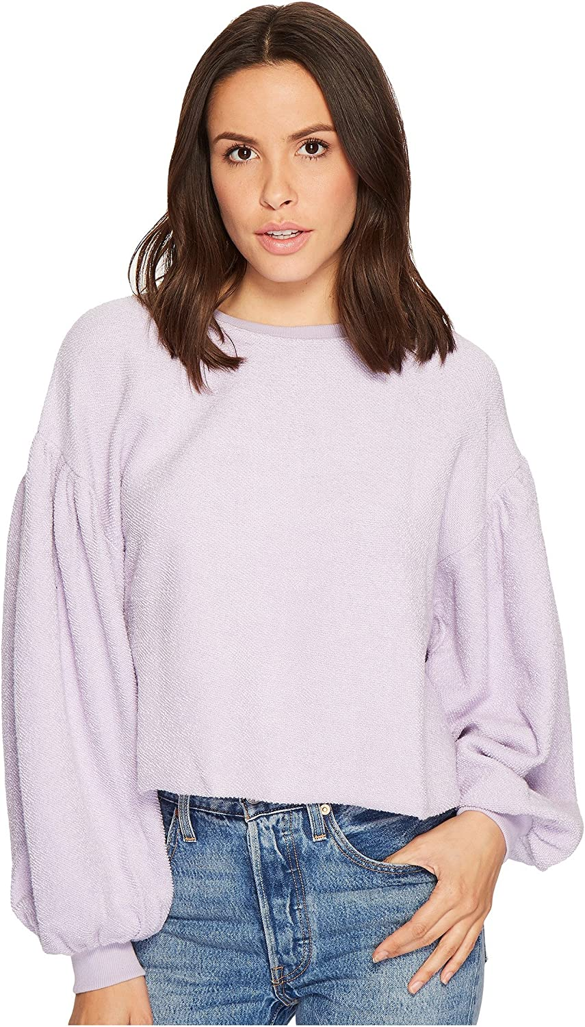Free People Womens Sleeves Like These Knit Sweater