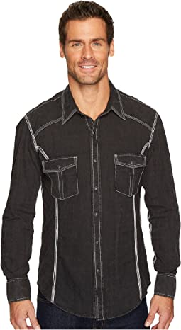 Rock and Roll Cowboy - Long Sleeve Snap B2S4119