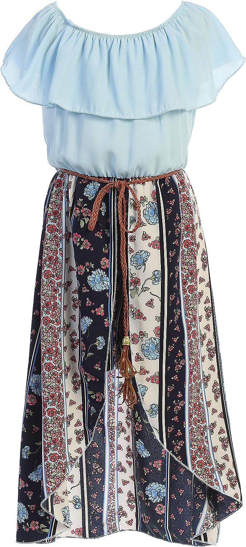 Flower Girl Walk Thru Romper Dress Casual Playwear Holiday Hi Lo