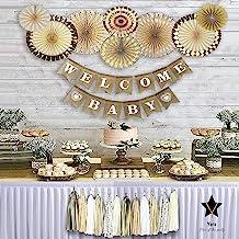 YARA Baby Shower Decorations Neutral | Fall Rustic Boho Theme Baby Shower Decoration for..