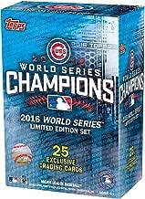 2016 Topps Chicago Cubs World Series Commemorative 25 Card Set - Baseball Team Sets