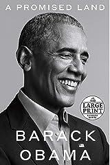 A Promised Land (Random House Large Print) ペーパーバック