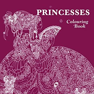 New English Princesses and Fairies Adult Kids Girls Coloring Colouring Book Beautiful Creative Design Children Tomoko Tashiro Japan Japanese