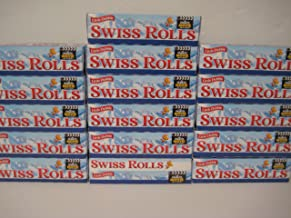 Little Debbie Swiss Rolls, 12- Cake Rolls, Twin Wrapped, Case of 16!