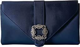 Jessica McClintock Riley Satin Envelope Clutch