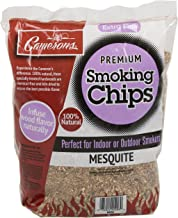 Camerons Products Smoking Chips - (Mesquite) Kiln Dried, Natural Extra Fine Wood Smoker Sawdust Shavings - 2 Pound Bag Barbecue Chips