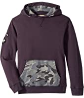 Lucky Brand Kids - Long Sleeve Cross Neck Hoodie (Big Kids)