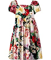 Dolce & Gabbana Kids - Flowers Mix Dress (Big Kids)