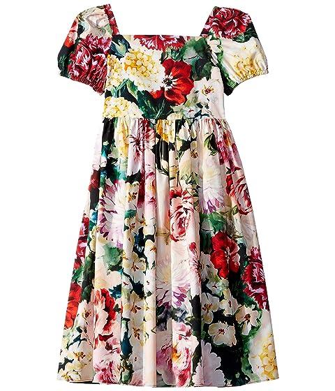 Dolce & Gabbana Kids Flowers Mix Dress (Big Kids)