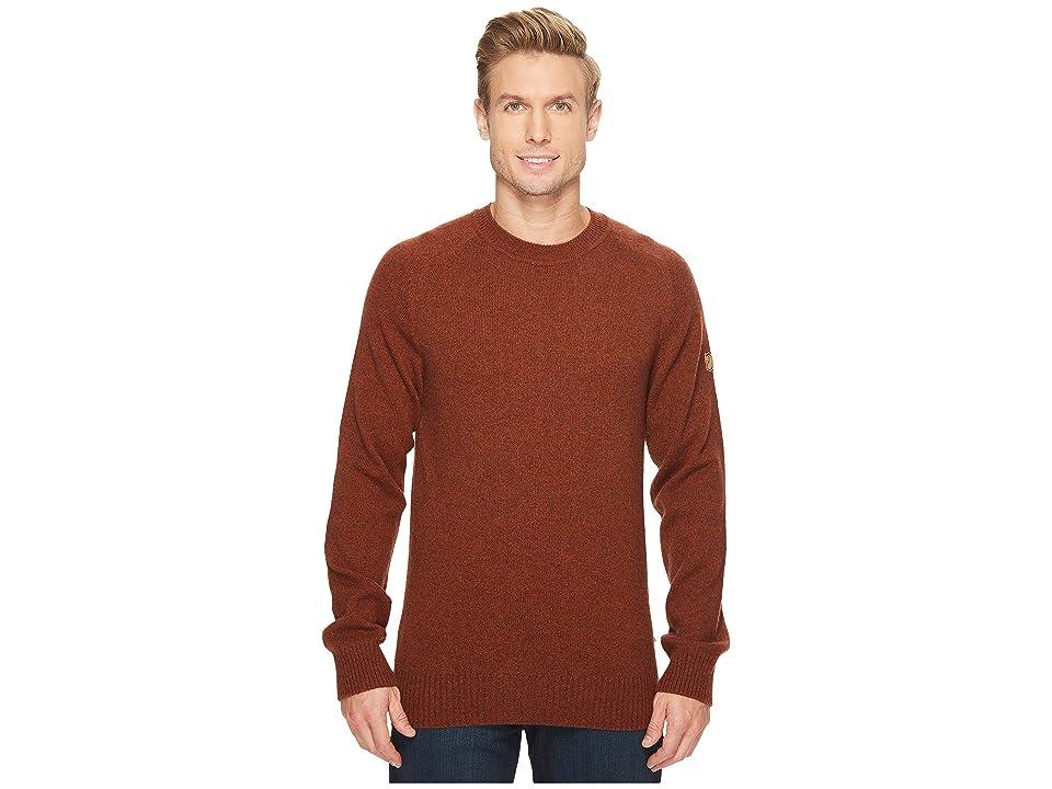 Fjallraven Ovik Re-Wool Sweater (Autumn Leaf) Men