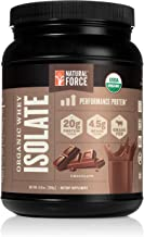 100% Organic Whey Isolate Protein Powder - USDA Organic Certified and Grass Fed – Low Carb, Lab Tested, Delicious Milk Cho...
