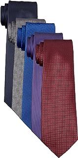[タカキュー] ウォッシャブル ネクタイ 5本セット 洗濯ネット付き ビジネス セレモニー タイ