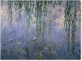 Water Lilies III 1840-1926 Artwork by Claude Monet, 35 by 47-Inch Canvas Wall Art