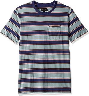 Brixton Men's Hilt Tailored Fit Short Sleeve Pocket Knit Shirt