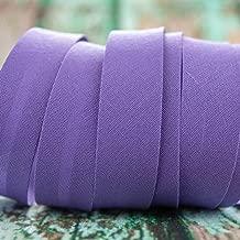 1m pro St/ück 18mm Breite Emily/&Joes fabrics B/änder Schr/ägband Punkte P/ünktchen Dots lila