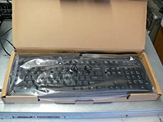 HP 701671-001 USB Windows keyboard assembly - With integrated Circuit(s) Cards Interface Devices (CCID) smartcard reader - With attached 1.8m (6.0ft) type-A USB cable