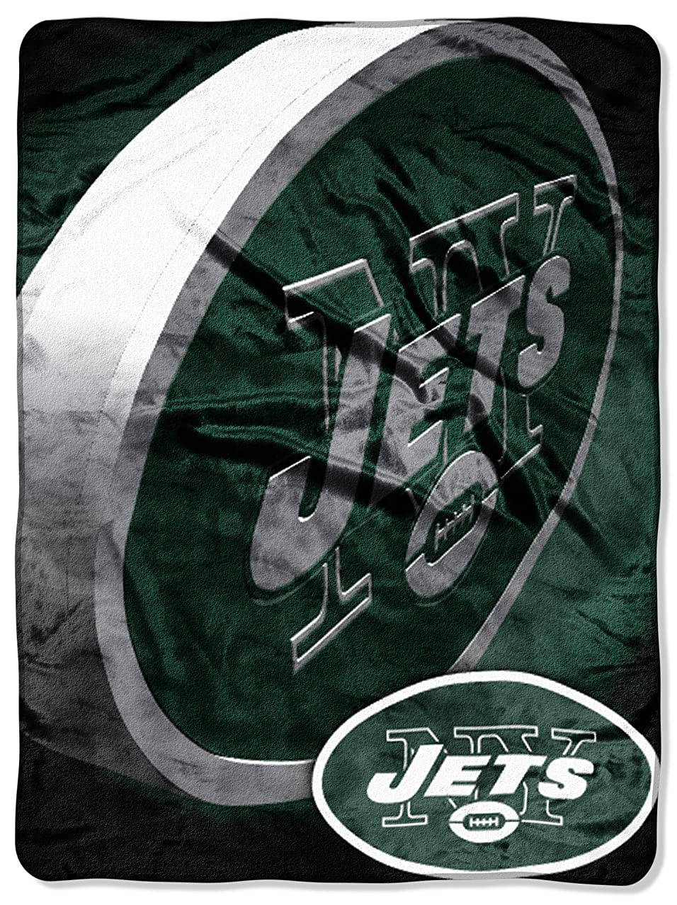 Officially Licensed NFL Bevel Micro Raschel Throw Blanket, 50