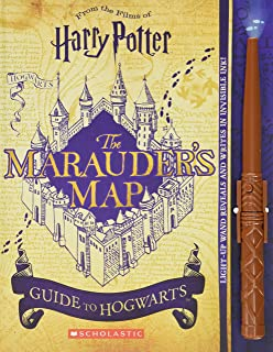 Marauder's Map Guide to Hogwarts (Harry Potter)