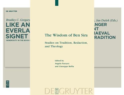 Deuterocanonical and Cognate Literature Studies (28 Book Series)