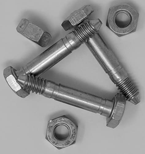 """Genuine OEM Ariens 1/4"""" Compact Snow Blower Shear Bolts 3-Pack 53200500"""