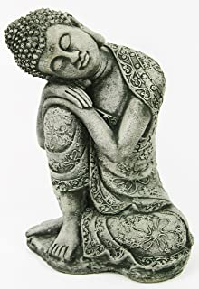 Thai Buddha Meditating Sitting Buddha Garden Statue Concrete Asian Statue Chinese Sculpture Japanese Outdoor Statuary