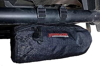 Bolsa de cilindro pequena Bushwhacker UTV para barra de rolo – Dimensões 21,6 cm x 10,1 cm – Pacote lateral SxS Bagagem Ar...