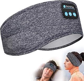 Lavince Auriculares de dormir con Bluetooth, diadema deportiva inalámbrica, con altavoces estéreo HD ultra delgados, perfectos para entrenamiento, correr, yoga, insomnio, dormir de lado, viajes aéreos, meditación