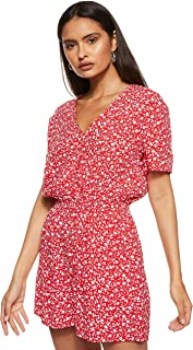 Tommy Jeans womens Tjw Floral Playsuit Dress
