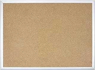 U Brands Cork Bulletin Board, 24 x 18 Inches, Silver Aluminum Frame (020U00-01)