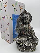 """Buddha Statue Home Decor for Meditating 9"""" Buddha Statue for Tabletop Desk Living Bedroom Office Hotel"""