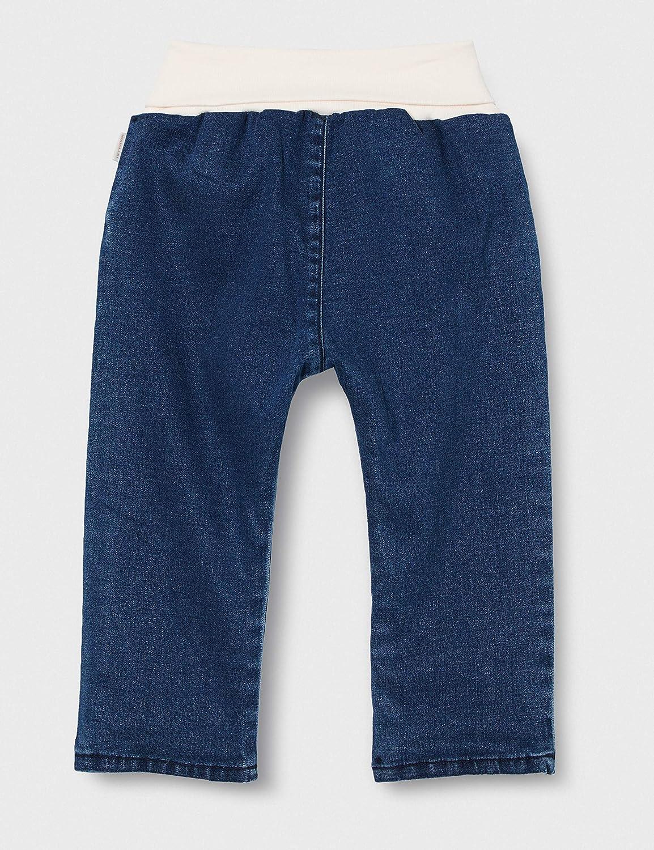 Sanetta Baby/_Girls Jungen Jeans Mit Rosa Softbund