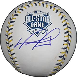 David Ortiz Boston Red Sox Signed Autographed Rawlings Official 2016 All-Star Game Baseball