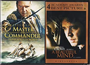 A Beautiful Mind , Master and Commander : Russell Crowe 2 Pack Collection