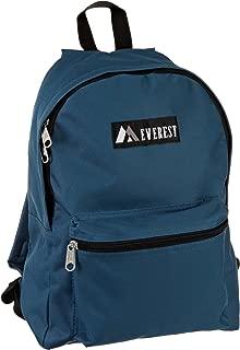 Everest Luggage Basic Backpack, Teal Blue, Medium