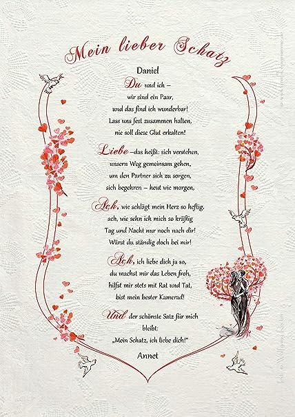 Mein schatz für liebeserklärungen Liebesbrief: So