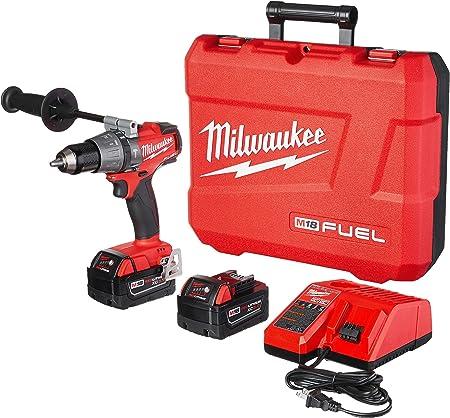 "Milwaukee 2704-22 M18 Fuel 1/2"" Hammer Drill/Driver Kit"