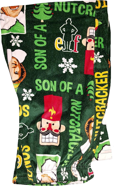 Fashion Elf Ranking TOP1 Son a Nutcracker Max 83% OFF Lounge Sleep Pants Green Fleece