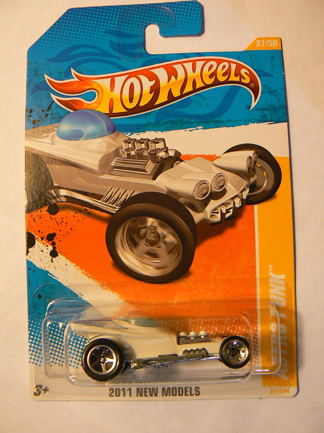 Hot Wheels 2011 New Models (27 50) White Astro Funk 27 244 by Hot Wheels