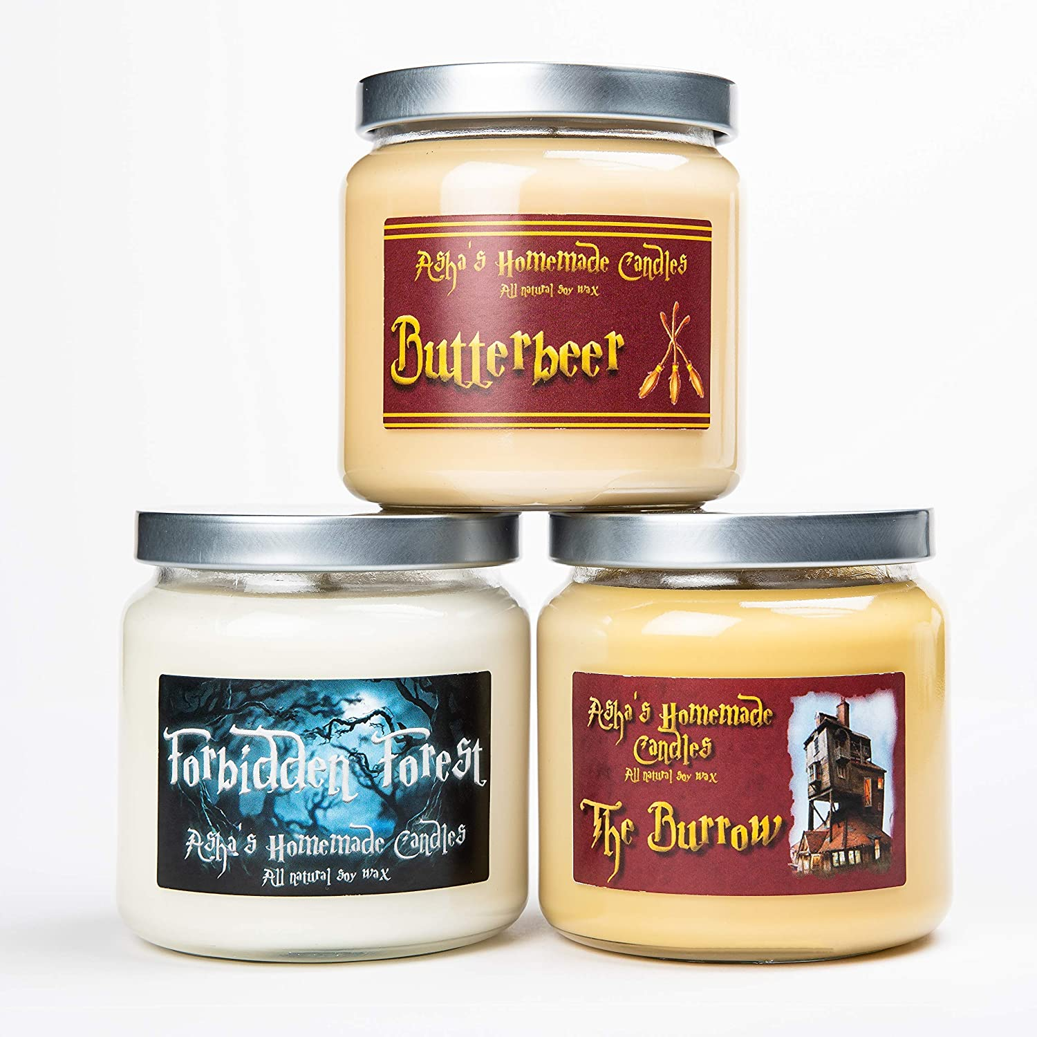 Fandom Soy Candles Butterbrew Burrow Forbidden S - 16 Forest Superior Recommendation oz
