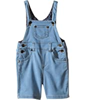 Dolce & Gabbana Kids - Denim Overalls in Bright Blue (Infant)