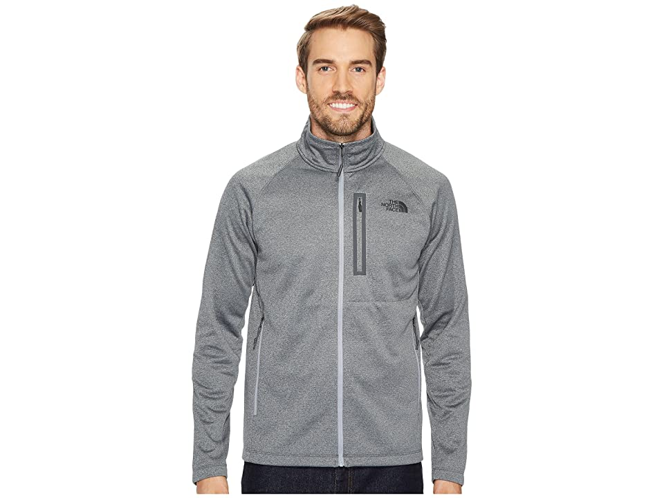 dd3968a42b38 The North Face Canyonlands Full Zip (TNF Medium Grey Heather) Men s Coat