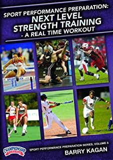 Sport Performance Preparation: Next Level Strength Training - A Real Time Workout (DVD)