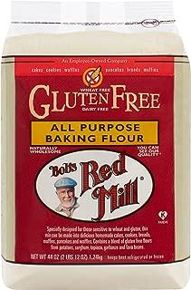 Bob's Red Mill Gluten Free All Purpose Baking Flour, 44 Oz (4 Pack)