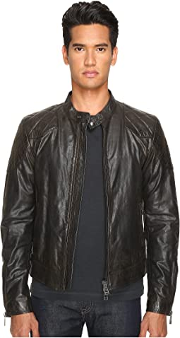 BELSTAFF Outlaw Lightweight Hand Waxed Leather Jacket