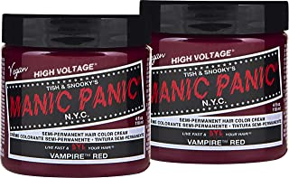 Best vampire red permanent hair dye Reviews